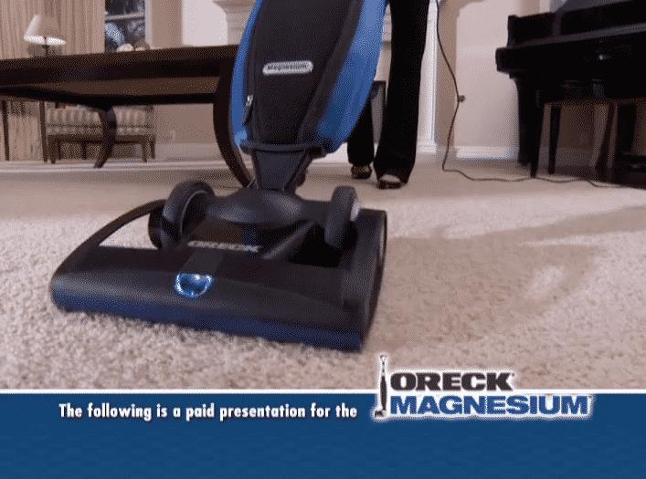 Oreck Magnesium Vacuum – Infomercial, Long-Form