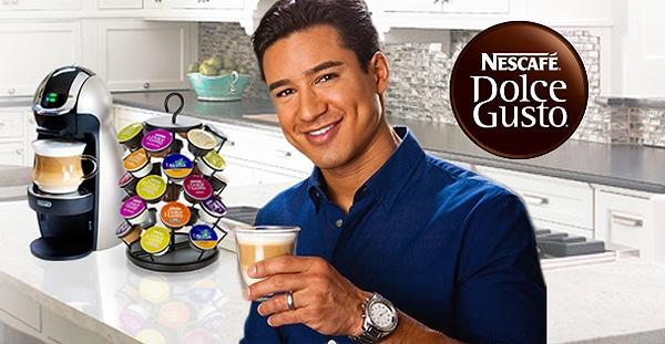Nescafe's new DRTV campaign featuring Mario Lopez