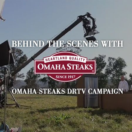 Behind the Scenes With Omaha Steaks DRTV CAMPAIGN