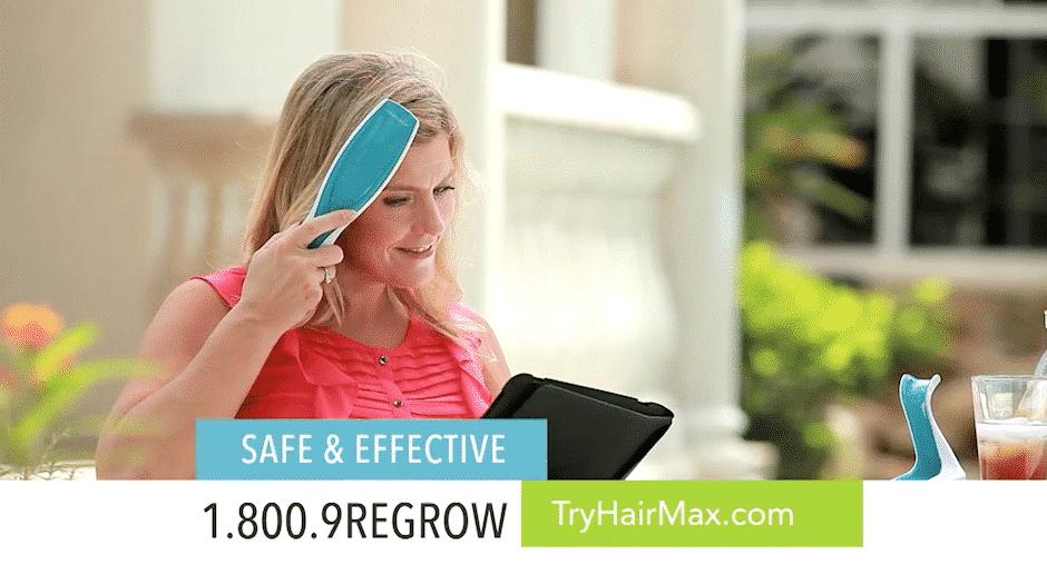 HairMax Laser – Infomercial, Long-Form