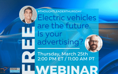 "Brands Like Tesla, GM and Polestar Need to Watch Our Webinar ""Electric Vehicles Are the Future. Is Your Advertising?"""