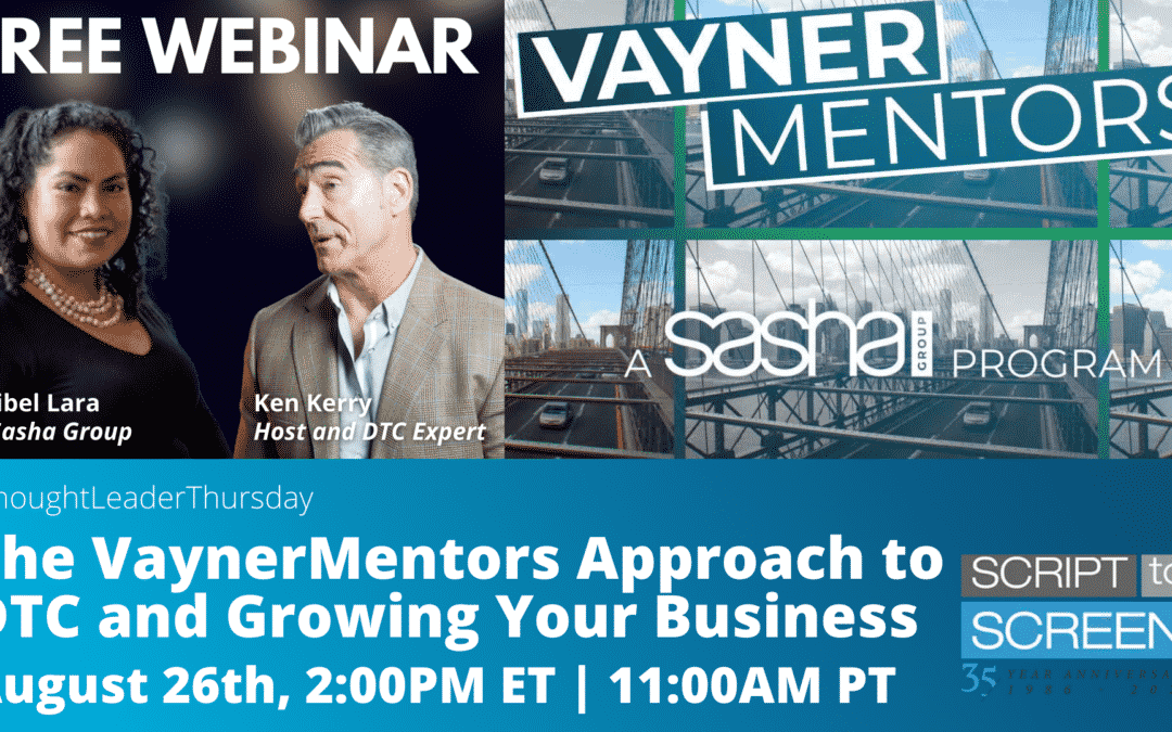 """Register for """"The VaynerMentors Approach to Direct-to-Consumer and Growing Your Business"""""""