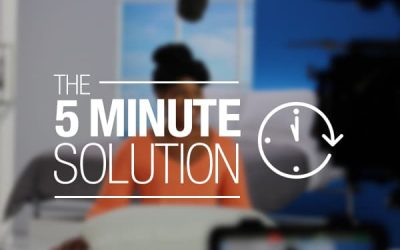 The 5-Minute Solution
