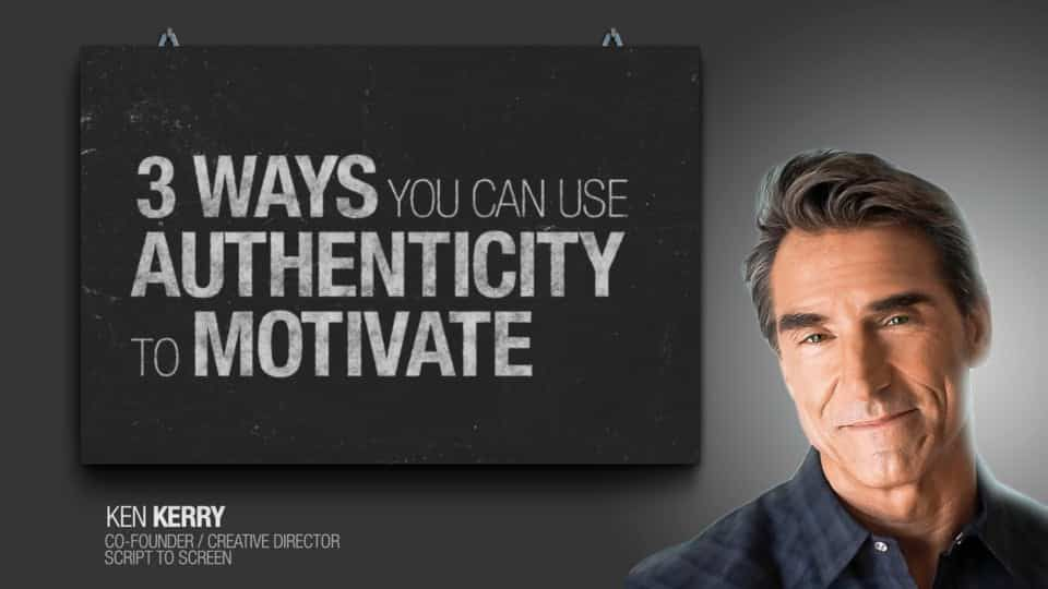 Direct Response Marketing Mastery - 3 Ways To Use Authenticity to Motivate