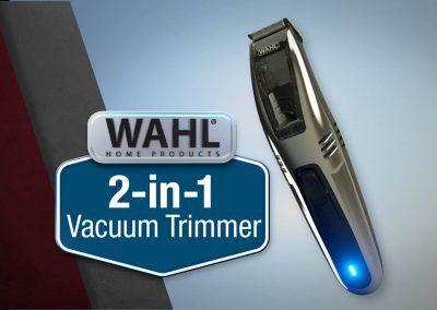 Wahl 2-in-1 Vacuum Trimmer – :120