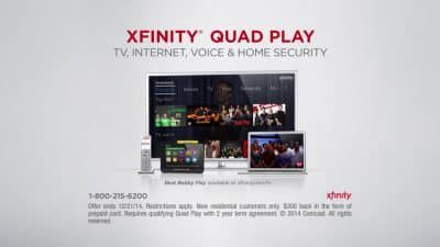 Comcast Quad Play – :120