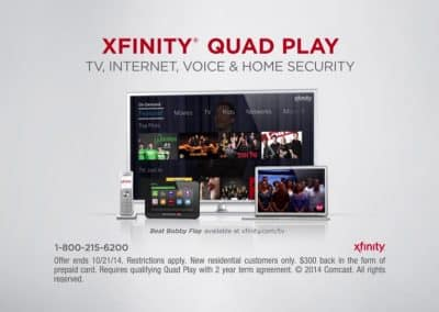 Comcast Quad Play Short Form Spot