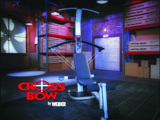 Crossbow by Weider – Infomercial, Long-Form