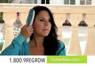 HairMax Laser Infomercial Campaign