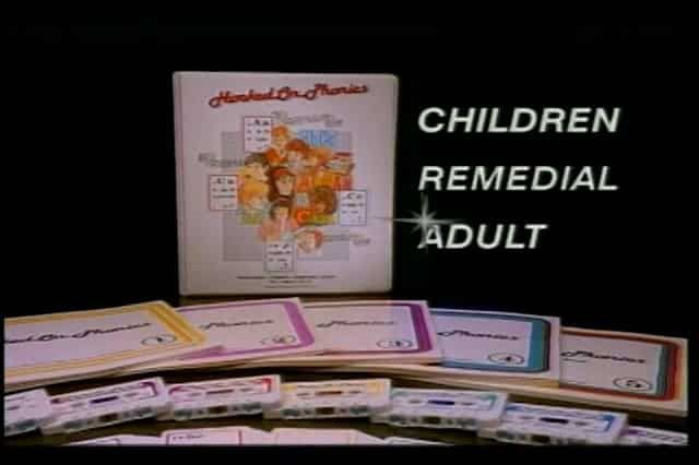 Hooked on Phonics – Infomercial, Long-Form