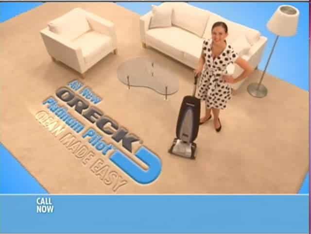 Oreck Platinum Pilot Vacuum – :120