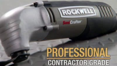 Rockwell Sonicrafter – Infomercial, Long-Form