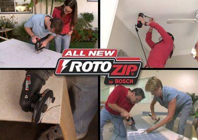 RotoZip DRTV Campaign