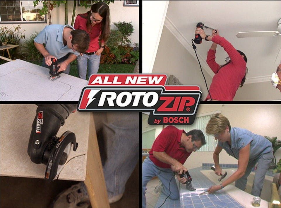 RotoZip – Infomercial, Long-Form