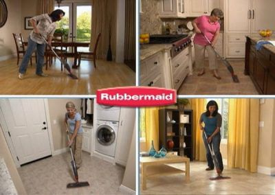 Rubbermaid Reveal Spray Mop – :60