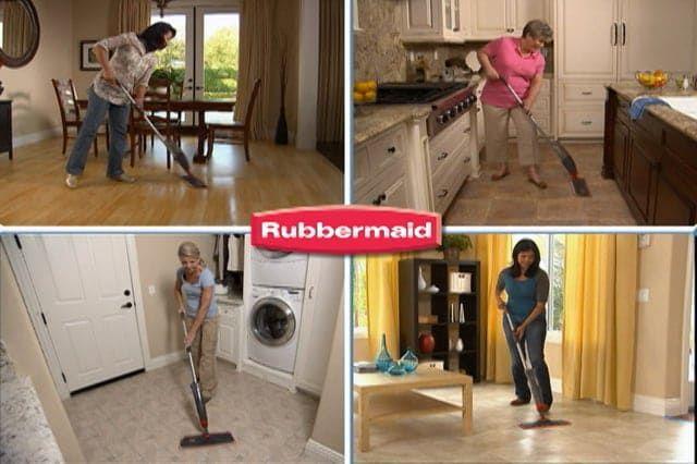 Rubbermaid Reveal Spray Mop – :60