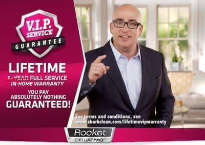 Shark Rocket DeLuxe Pro Vacuum DRTV Campaign