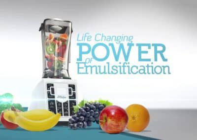 The Shred Emulsifier Long Form DRTV Campaign