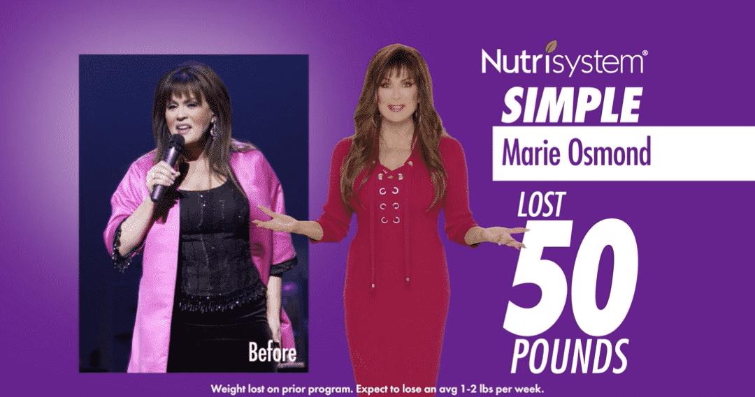 Nutrisystem with Marie Osmond – :60