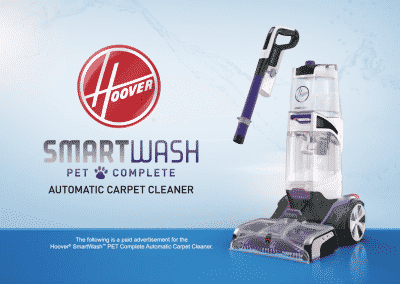 Hoover SmartWash Pet Complete – Infomercial, Long-Form