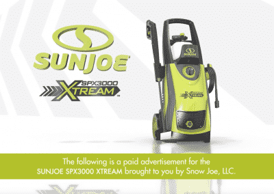 SunJoe – Infomercial, Long-Form
