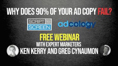 Why 90% of Ad Copy Fails Webinar with Dr. Greg Cynaumon