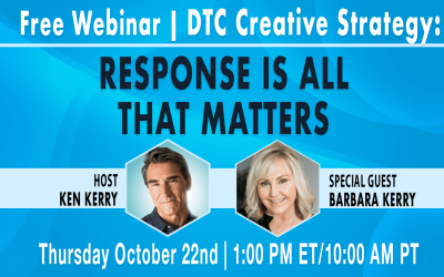 Watch the #ThoughtLeaderThursday Webinar — DTC Creative Strategy: Response is All That Matters