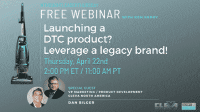 Launching a DTC Product? Leverage a LegacyBrand!