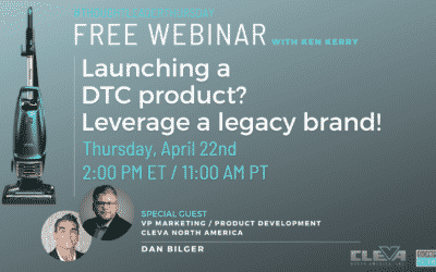 Register for Launching a DTC Product? Leverage a Legacy Brand!