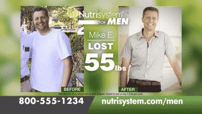 Nutrisystem for Men Before & After :60