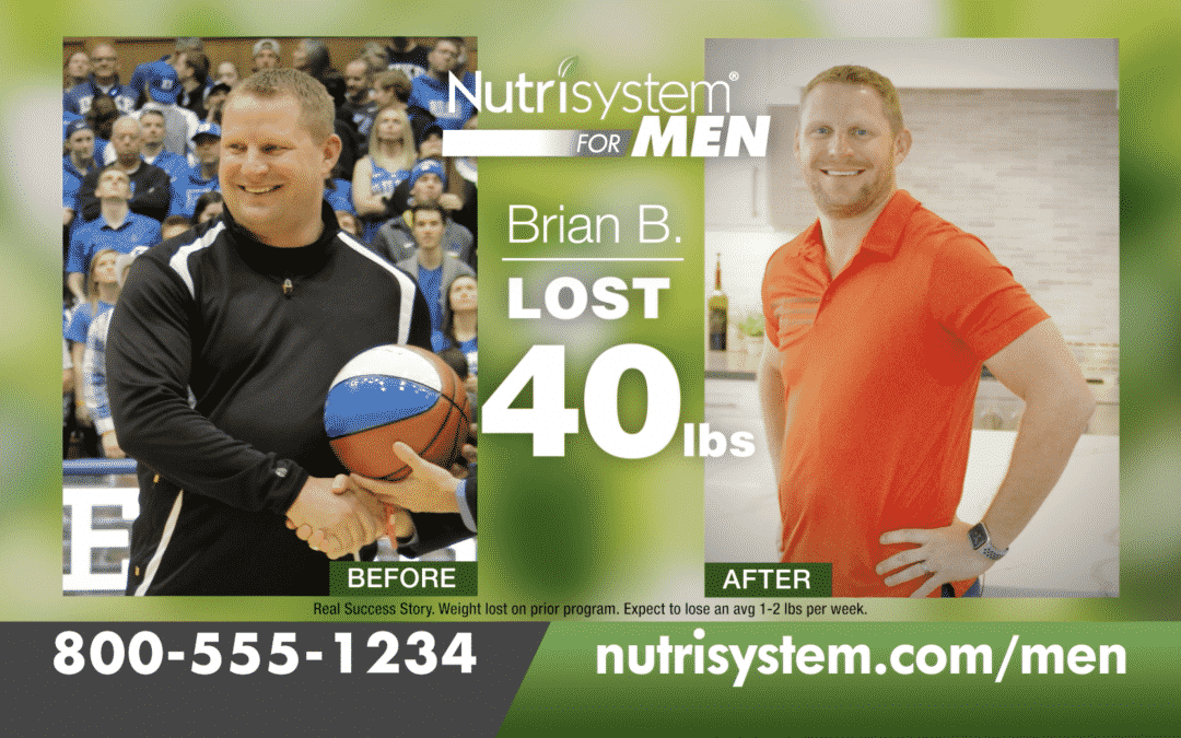 Nutrisystem for Men Back in the Game :30