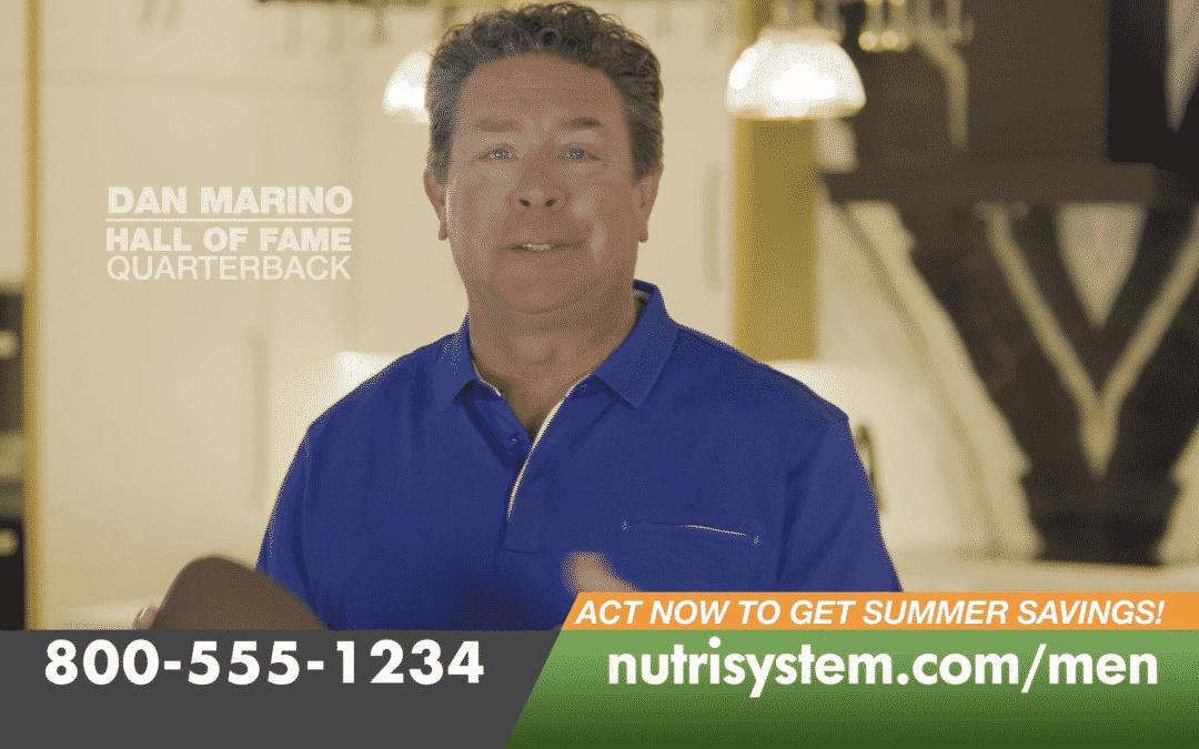 Nutrisystem for Men Dan Marino Story :30