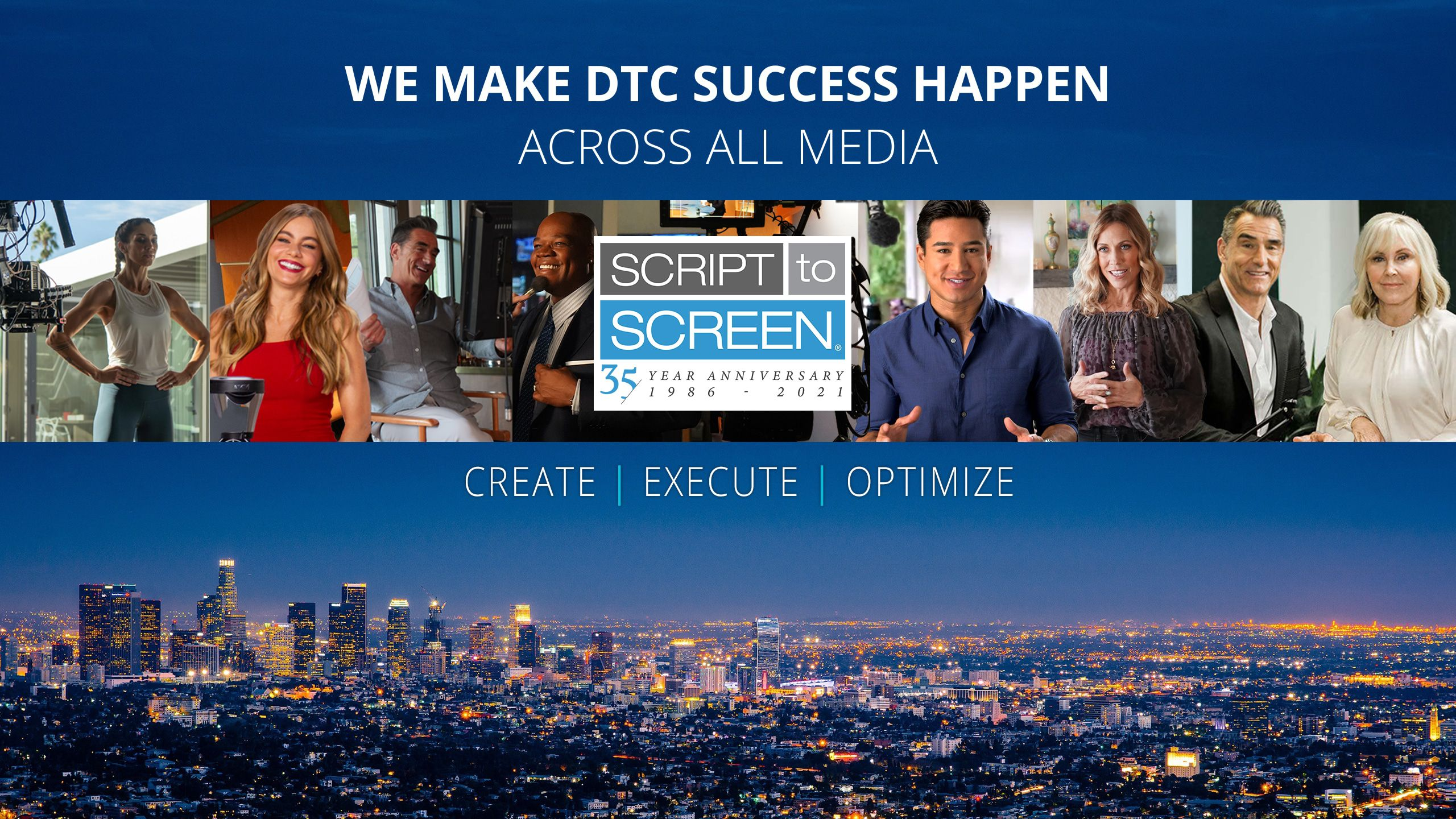 Script to Screen Homepage Banner