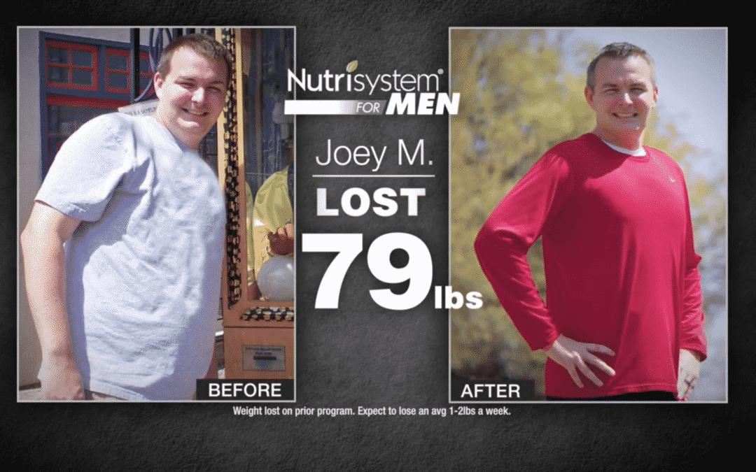 Nutrisystem for Men Get the Edge :60